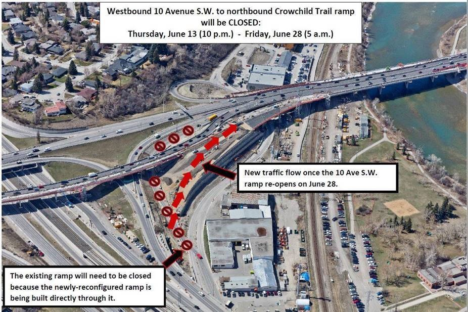 Crowchild Trail Upgrades .. June 2019 Update from City of Calgary