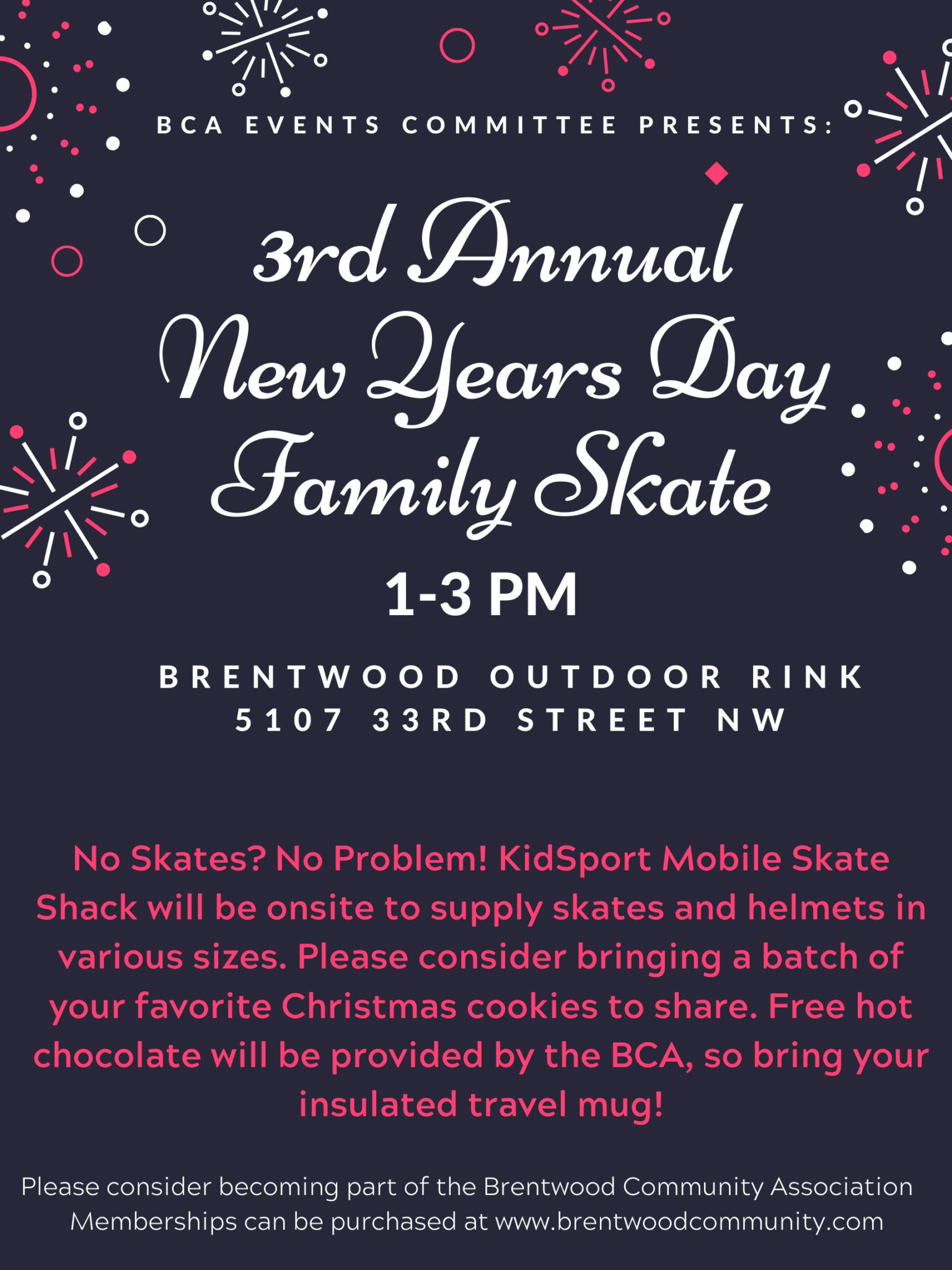 3rd Annual New Years Day Family Skate