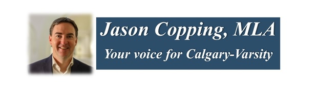 Townhall with MLA Jason Copping – February 1, 2020